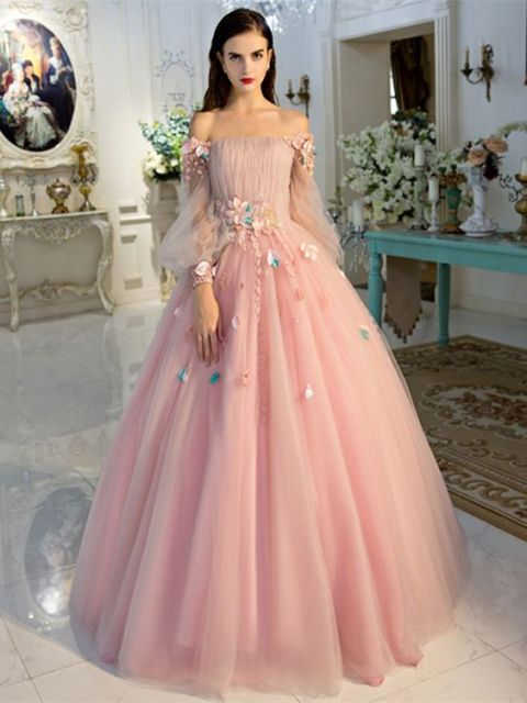 Dress Pesta Ala Princess 2019