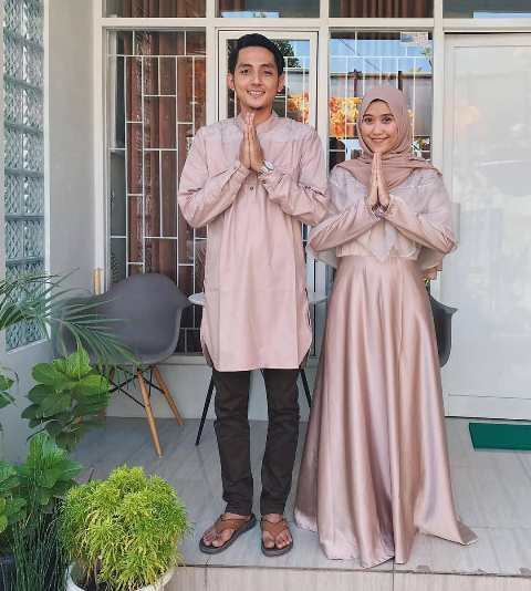 Model Baju Lebaran Couple 2109