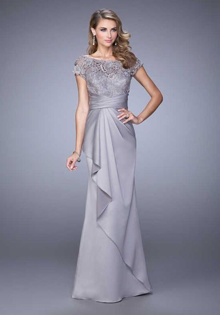 Model Long Dress Brokat Formal 2019