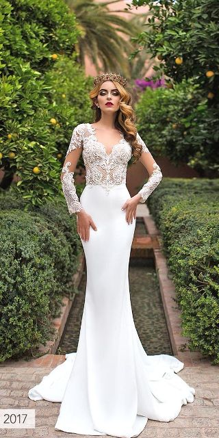 Model Wedding Dress Brokat 2019