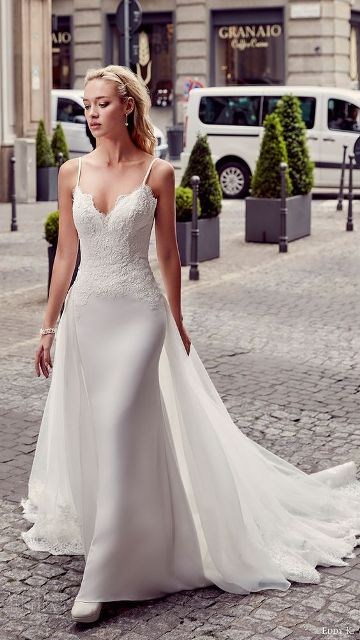 Model Wedding Dress Modern 2019