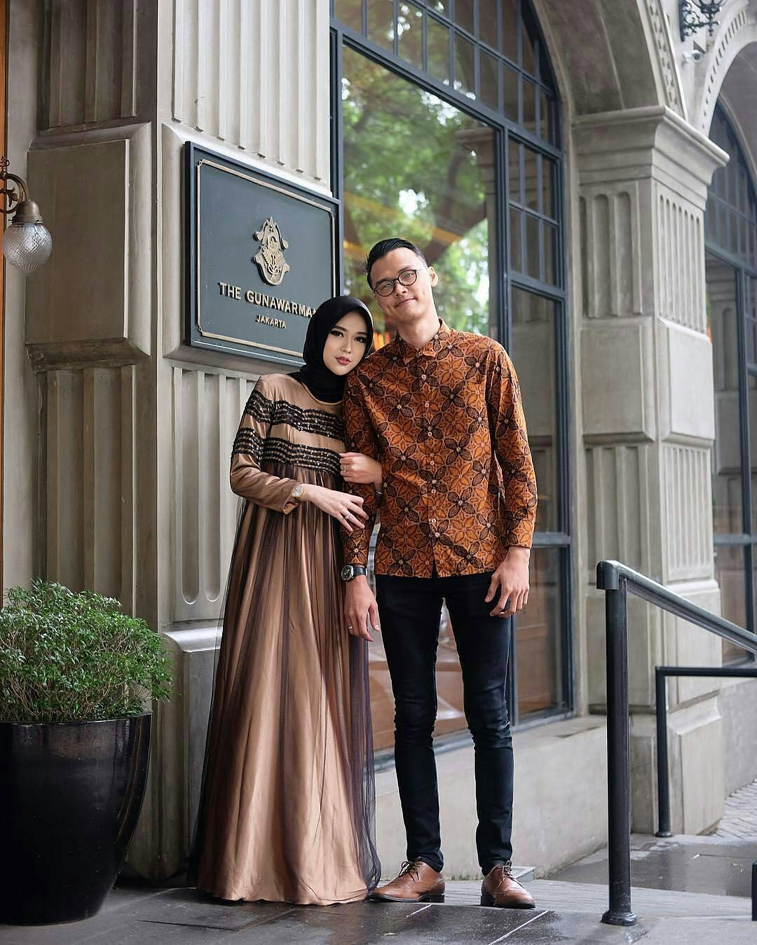 Dress Batik Pesta Couple